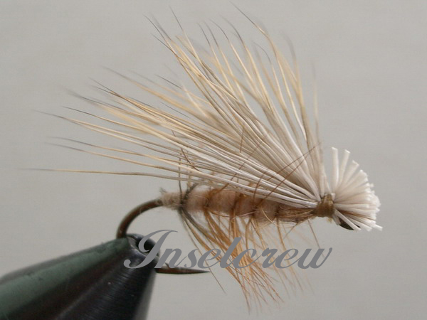 Hair W. Caddis Tan