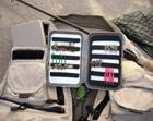 Fliegenbox Plastik mit drei Einfädler