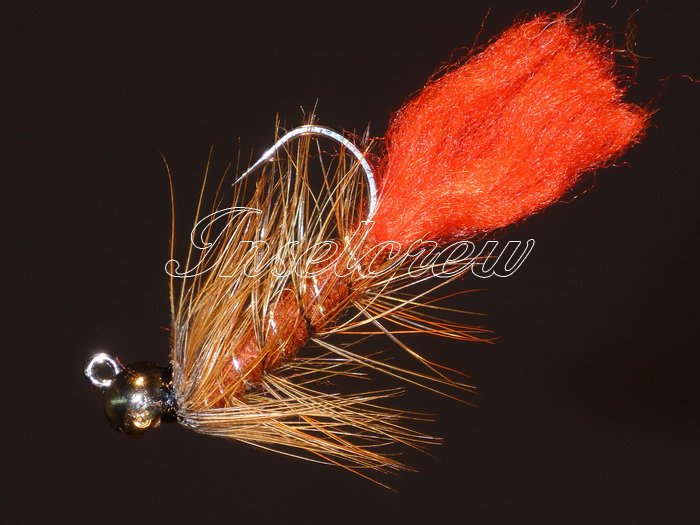 Tungsten Zulu Brown Jig