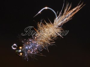 Tungsten Hares Ear flash Jig