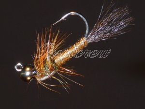 Tungsten March Brown Jig