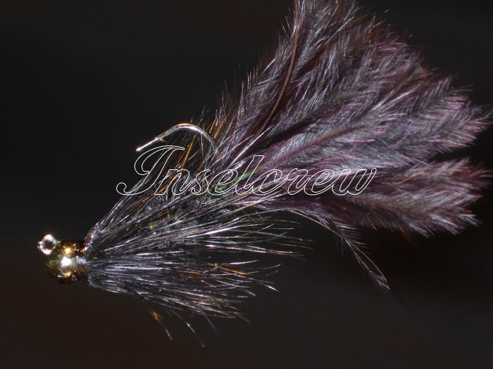 Tungsten Wooly Bugger Black Jig